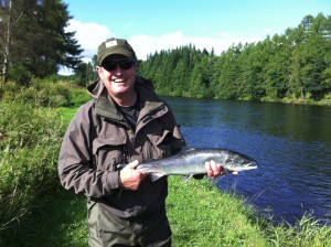 Andrew Sutherland - First Ever Salmon